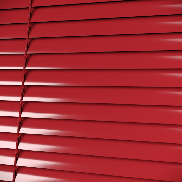 25mm Glossy Red pattern