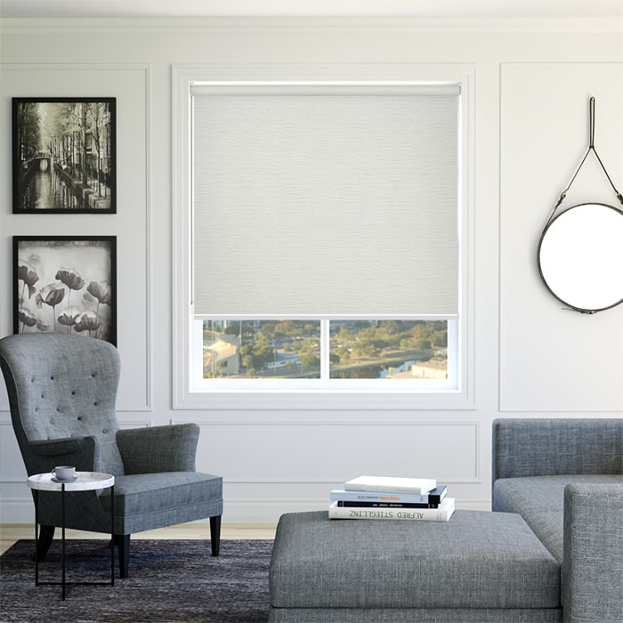 Buy Roller Blinds Monte Carlo Blockout Pearl